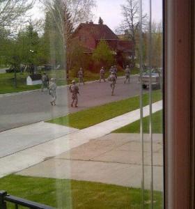 Američka vojska potpuno naoružana u vašem susjedstvu ! Teorija zavjere više ne postoji.