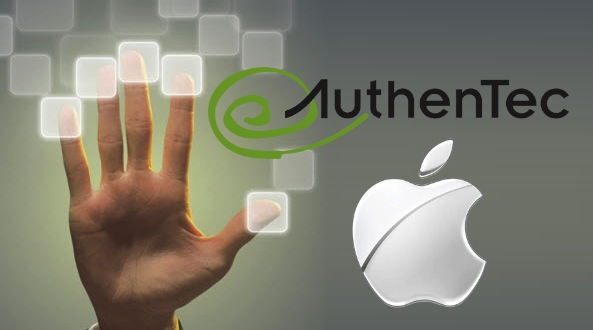 AuthenTec Apple otisak prsta