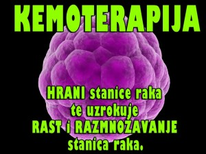 KEMOTERAPIJA NA KOLJENIMA : Sluajno Istraivanje Razotkrilo da Tumor Raste Nakon Terapije!