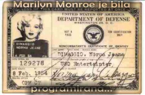 Marilyn Monroe je bila programirana ! Robovi Programa MONARCH (Monarh)