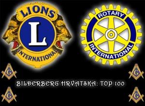 HRVATSKI BILDERBERG: Popis 100 najmoćnijih ljudi okupljenih u Lions i Rotary klubovima