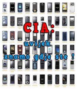 CIA: Uvijek Znamo Gdje Ste !