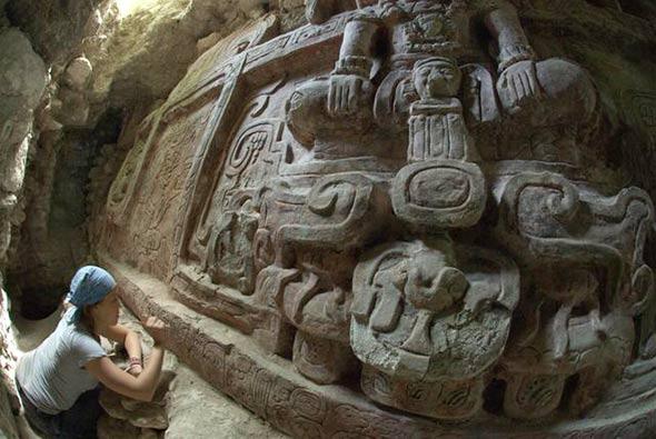Maje-zid-arheologija