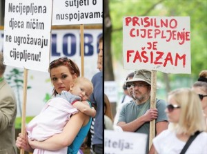 Prosvjedovali za slobodu izbora: Prisilno cijepljenje je fašizam! Uskoro ćemo ih morati čipirati
