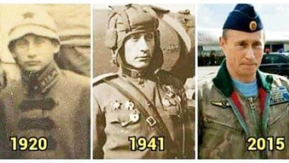 Putin-povijest