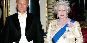 """Predsjednik Putin tvrdi da kraljica Elizabeta """"nije čovjek"""""""