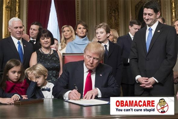 obamacare-trump