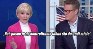 VODITELJICA AMERIČKE TELEVIZIJSKE MREŽE MSNBC: 'Naš posao je da kontroliramo točno što da ljudi misle' (VIDEO)