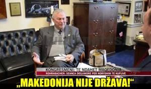 Utjecajni američki kongresnik Rohrabacher: Makedonija nije država! Hitno ju treba podijeliti