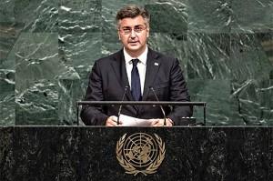OTKRIO PRAVO LICE: Opasna izjava Andreja Plenkovića u UN-u koju su mnogi prešutjeli!