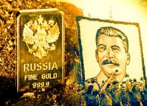 REZANJA OVISNOSTI O AMERIČKOM DOLARU: Zlatne rezerve Rusije približavaju se rekordu iz ere Staljina