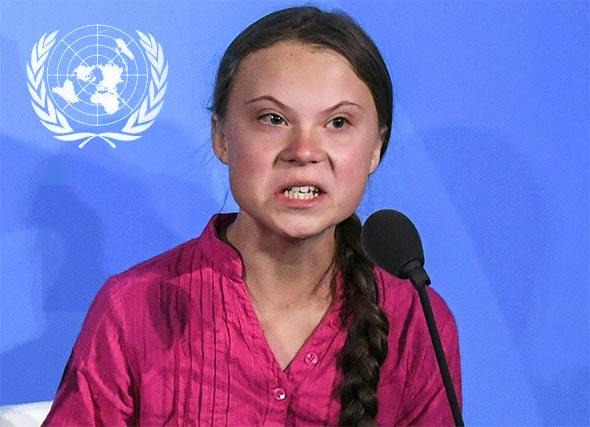 IZVAN SKRIPTIRANOG GOVORA, dijete klimatske histerije Greta Thunberg jedva može odgovoriti na osnovna pitanja ili objasniti bilo što o klimatskim promjenama